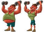Fit vs fat