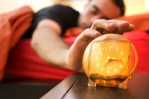 Teenage sleep clock
